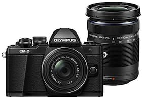 Olympus EM10 Mark II Camera Twin Lens Kit with 14-42 & 40-150 (Black)