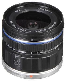 Olympus M.Zuiko Digital ED 9-18mm F4.0-5.6 Lens (Black)