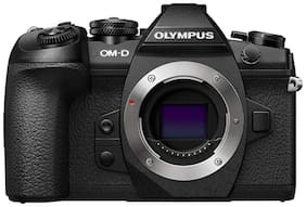 Olympus OM-D E-M1 Mark II  (Body Only) 20.4 MP Mirrorless Camera - Black