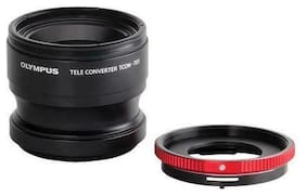 Olympus TCON-T01 TG-1 TG2 Camera CLA-T01 Ring TeleConverter Lens Pack