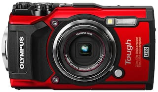 Olympus Tough TG-5 12 MP Point & Shoot Camera (Red)