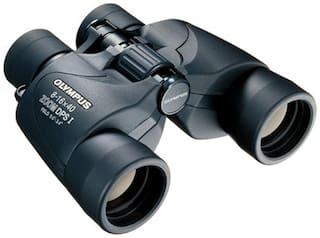 Olympus Trooper 8-16 x 40 Zoom DPS I Binocular (Black)