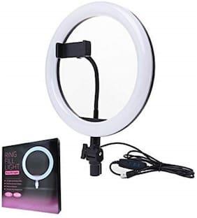 Ossden Ring led 10 inch Professional LED, Tiktok Ring Light, Instagram Reels Ring Light||3 Color Modes Dimmable Ring Light Ring Flash