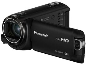 Panasonic Hc-w580 Hc W580 Twin & Wireless Camcorder ( Black )