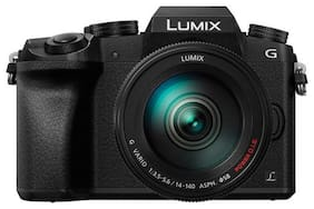 Panasonic DMC-G85HGW-K Kit (lumix g vario 14-140 mm ) 16 MP Mirrorless Camera (Black)