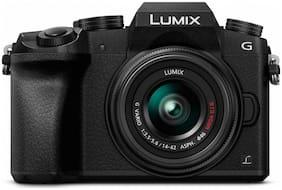 Panasonic Lumix G7 4K Mirrorless Camera with 14-42mm MEGA O.I.S. Lens (Black)