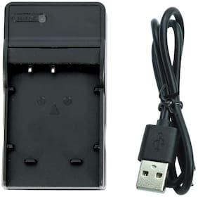 Photo Care Usb Camera Battery Charger For Sony Np-Bg1 Fg1 Dsc-W290 W220 W210 W90 H9 H3 T100 (Black)-as