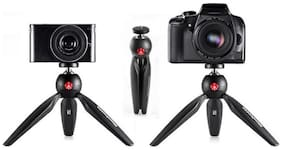 PICKMALL Mini Tripod 7 Inch-78 With 360 Degree Rotation Ball Hard With Mobile Clip For All Android & Iphone Smart Phone