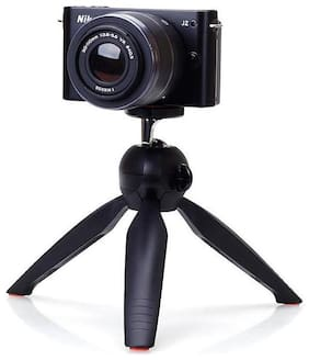 PICKMALL Mini Tripod 7 Inch-33 With 360 Degree Rotation Ball Hard With Mobile Clip For All Android & Iphone Smart Phone