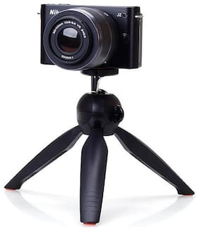 PICKMALL Mini Tripod 7 inch-22 With 360 Degree Rotation Ball Hard With Mobile Clip For All Android & Iphone Smart Phone