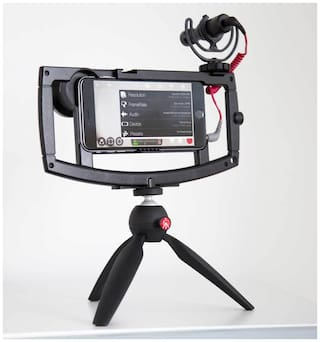 PICKMALL Mini Tripod 7 inch-45 With 360 Degree Rotation Ball Hard With Mobile Clip For All Android & Iphone Smart Phone