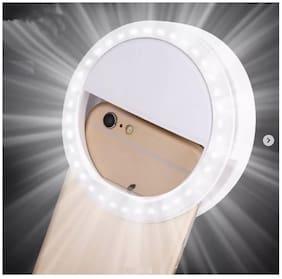 Portable Selfie Beauty LED Ring Flash Night Light for Camera Brightness - TikTok and Instagram Videos by Crystal Digital