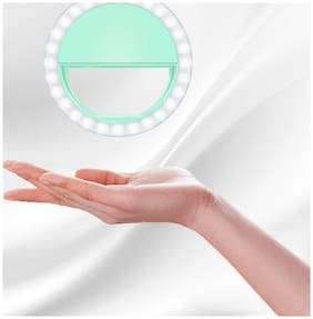 Portable Selfie Beauty LED Ring Flash Night Light for All Smartphones By TSV