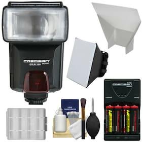 Precision Design DSLR350 High Power Auto Flash Kit for Digital SLR Cameras