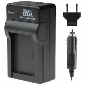 Premium Tech PT-76 Battery Charger for Fuji NP-W126 Fits X-E1 X-M1 X-A1 HS50EXR