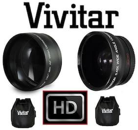 Pro 2-Pcs Hi Def Telephoto & Wide Angle Lens Kit For FujiFilm X-T3