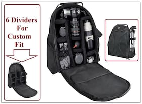 Pro Deluxe Backpack Case Carrying Bag For Canon VIXIA HF R80 R82 R800