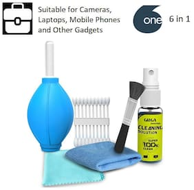 Professional 6-IN-1 Cleaning Kit for Cameras and Sensitive Electronics