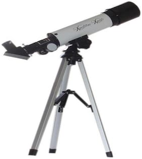 Protos 90X Xpedition Xperts 50360 50mm Silver Land and Sky Reflecting Telescope