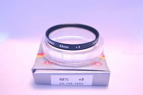 Quantaray 52 mm NEW Close-Up +3 Lens with Case and Box Made in Japan (R-85)