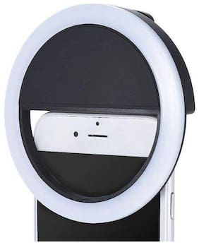 Rechargeable LED Selfie Flash Ring Light for Photo's   Video's   Live Streaming   You-Tube