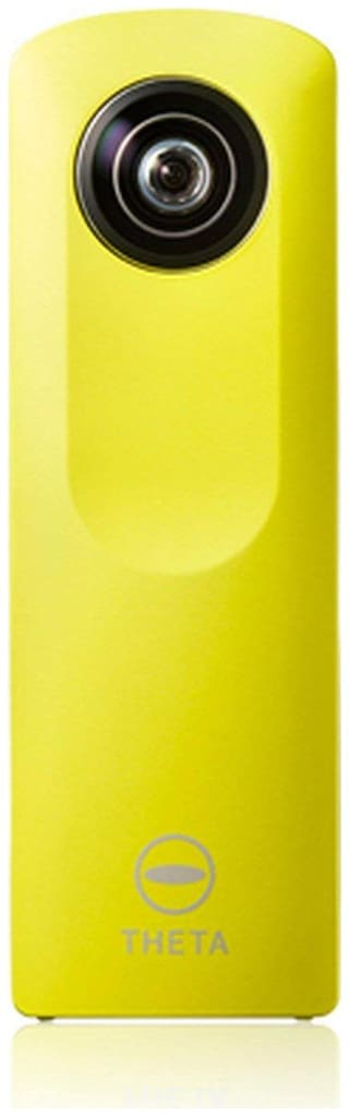 Ricoh Theta M15 360 Degree Spherical Panorama Camera (Yellow)