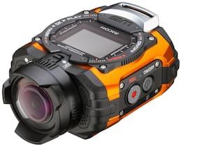 Ricoh WG-M1 14 MP Waterproof Action Video Camera (Orange)