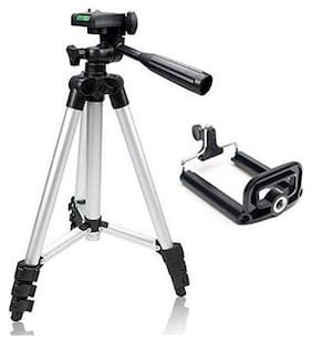 ripod For DSLR Camera And Mobile | Fully Flexible Mount Cum Tripod Stand (3110 Tripod) By(BLULOTUS)