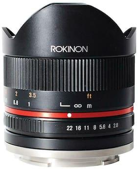 Rokinon 8mm f/2.8 Series 2 UMC Fisheye, Manual Focus Lens f/Sony E, Black