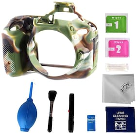 Roy EasyCover For NIKON D5500 Camouflage Combo Camera Case cover