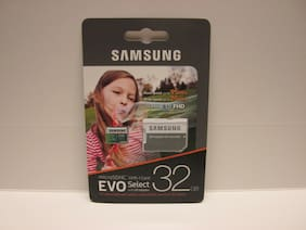 Samsung 32GB Micro EVO select View 2 4K HD SD card for Galaxy View WiFi tablet