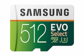 Samsung MicroSDXC Evo 512Gb Memory Card with Adapter | Brand New