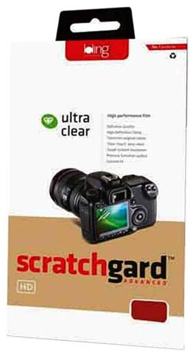 Scratchgard Clear Screen Guard For Canon EOD 60D