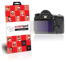 Scratchgard Clear Screen Guard For Canon EOS 70D