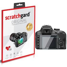 Scratchgard Nikon D3500 DSLR Ultra Clear PET Film Screen Protector
