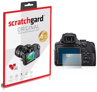 Scratchgard Nikon CP P1000 Ultra Clear PET Film Screen Protector