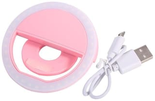 Selfie Ring Light with 36 LED Bulbs, Flash Lamp Clip Ring Lights Fill-in Lighting Portable for Phone