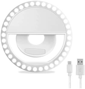 Selfie Ring Light for Mobile   Selfie Tiktok Ring Light   3 Way Led Flash  Light for All Smartphones