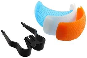 SHOPEE 3 Color Pop Up Hot-Shoe Flash Diffuser Set for DSLR Cameras (CANON, NIKON)