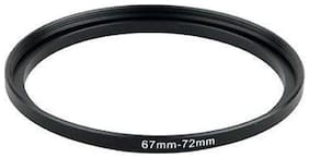 SHOPEE 67mm to 72mm 67-72MM Lens Step Up Filter Ring Stepping Adapter Metal