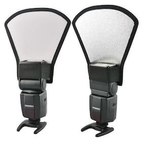 SHOPEE branded Mini Silver White Flash Diffuser Reflector for Canon Nikon Pentax Yongnuo Sony