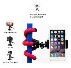 Shopline  Bend, Tilt It Velvet Finish Gorilla Flexible Mini Tripod Stand for Mobile and Action Camera