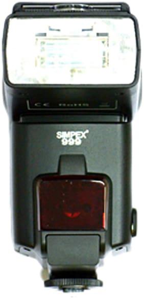 Simpex 999-speedlite Flash (Black)