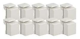 Snap In Blank Filler Light Almond 10 Pack