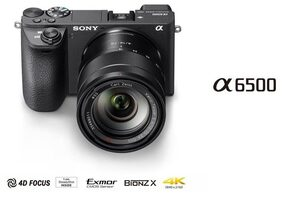 Sony a6500 24.2 MP DSLR Camera (Black)