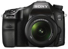 Sony Alpha ILCA-68M Kit (SAL18-135) 24.2 MP DSLR Camera (Black)
