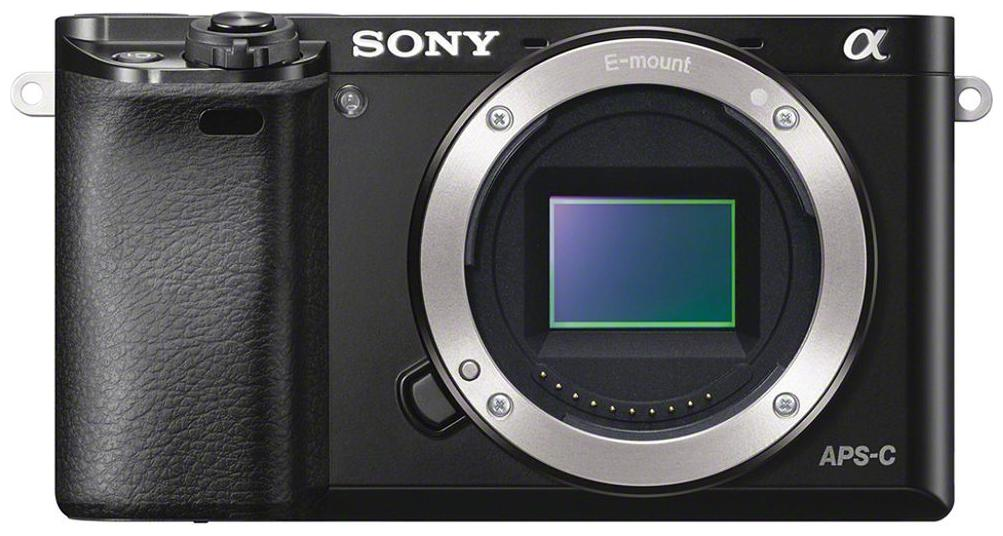 Sony Alpha ILCE 6000Y  Body Only  24.3 MP Mirrorless Digital Camera  Black  by Camera Stores