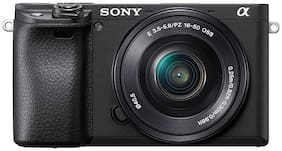 Sony Alpha ILCE-6400L 24.2MP with 16-50mm Power Zoom Lens Mirrorless Digital SLR Camera (Black)