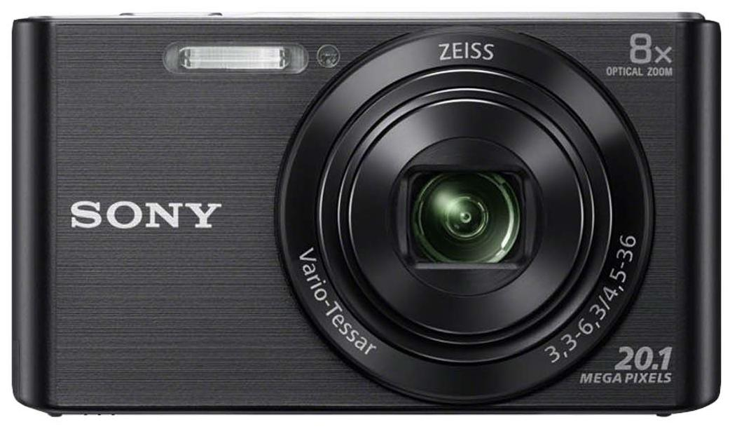 Sony Cyber-shot DSC-W830 20.1 MP Point & Shoot Camera (Black)