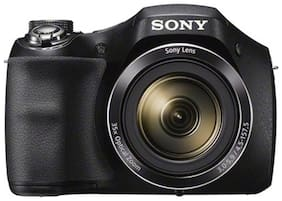 Sony Cyber-shot DSC-H300 20.1 MP High Zoom Point & Shoot Camera  + Carry Case + 16 GB SD Card